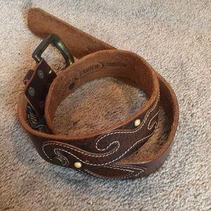 Brave Beltworks Genuine Leather Belt (size 32)